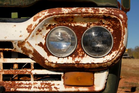 """Rusted Truck"", copyright 2011 Shannon M Herren, All Rights Reserved"